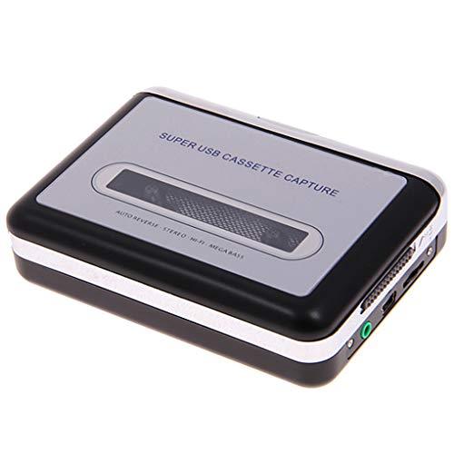 USB-Cassette Player Cassette to MP3 Converter Capture-Mega Bass Audio Music Player