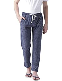 Club York Men's Solid Track Pant in Blue Color