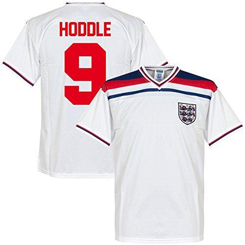 1982 England Home Retro Trikot + Hoddle 9 - XL