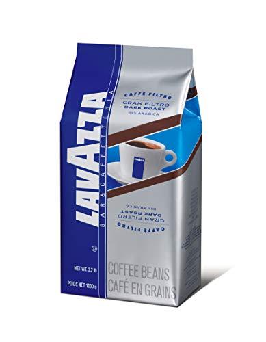 Lavazza Gran Filtro Dark Roast - Whole Coffee Beans, 2.2-Pound Bag by Lavazza