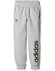 adidas YB ESS LIN BRPC - Pantalón para hombre, color gris / negro, talla 176