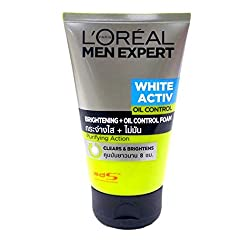 Loreal Men Expert White Activ Brightening + Oil Control Foam 100 ml