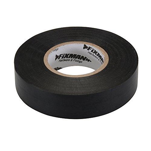 Preisvergleich Produktbild Fixman 192069 Isolierband 19 mm x 33 m, Schwarz