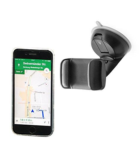 THEVERY® - Smartphonehalterung für die Windschutzscheibe - Handy Smartphone Auto Kfz PKW Befestigung Halterung Carholder (Münze Halter Platte)