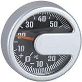 Unitec - ALU - 84666 - Thermomètre - Rond