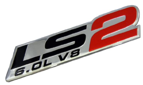 ls2-60l-v8-red-engine-emblem-badge-nameplate-highly-polished-aluminum-chrome-silver-for-gm-general-m