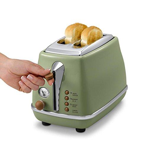 Rollsnownow Vintage Breakfast Series Torréfacteur Boulangerie Accueil Petit déjeuner Tusi Cinq modes de fonctionnement Couvercle de poussière en acier inoxydable