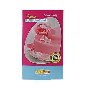 Dekoback Rollfondant Rosa 1er Pack (1 x 250 g)