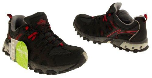 Footwear Studio, Stivali uomo Nero (Nero / rosso)