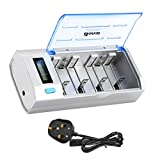 Best C Battery Chargers - BONAI LCD Universal Battery Charger for AA, AAA Review