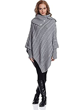 Merry Style Poncho Mujer N4293