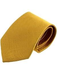 Ularma Moda Nuevo Color sólido clásico rayas corbata corbata Jacquard Tejido de los hombres