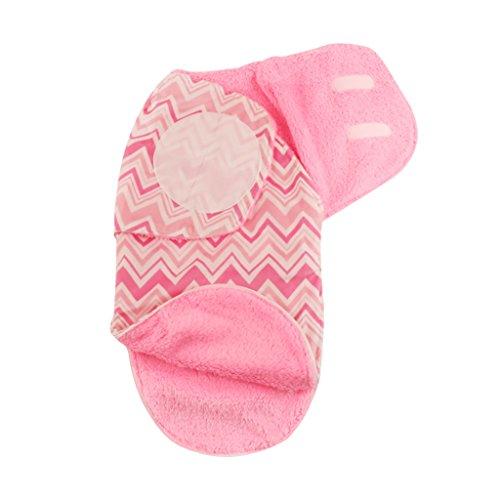 Einschlagdecke Baby Decke, Infant Swaddle Decke Pucken Decken 32 * 66 cm (2-6 Monate)