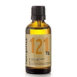 Naissance Limette (Nr. 121) 50ml - 100% naturreines ätherisches Limettenöl - vegan, unverdünnt - für Aromatherapie, Massagemischungen & Duftlampen - vitalisierendes und belebendes Aroma