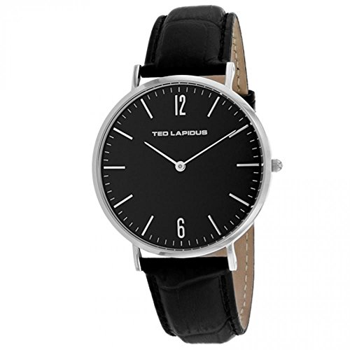 Ted Lapidus Classic Reloj de Hombre Cuarzo 41mm Correa de Cuero 5131201