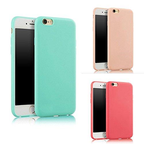Hosaire Hülle für iphone 6/6S,Phone Handyhülle Ultra-dünnes Silikon Weiche Handy Schutzhülle,Schwarz Dunkelblau