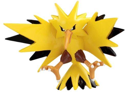 Pokemon: Best Wishes! (Schwarz + Weiß) Monster Collection Figur: Zapdos