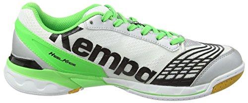 Nero De Due A Adulte Multicolore Chaussures Multicolore Pallamano Kempa Verde Fluo bianco Mixte Attacco HRqc6IUWO