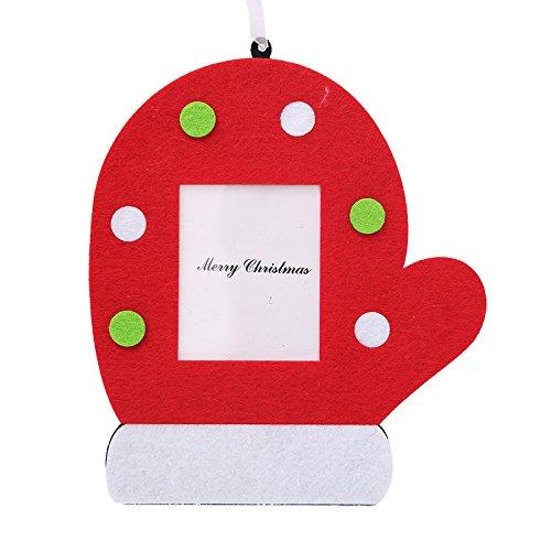 (QZHE Weihnachtsschmuck Für Weihnachten Weihnachten Bilderrahmen Foto Platzierung Boxen Kreative Ornamente Dekoration Für Weihnachten Urlaub Party Dekorationen, B)