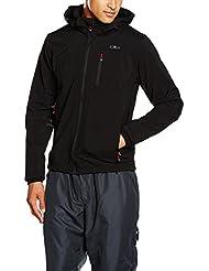 CMP - F.LLI CAMPAGNOLO chaqueta softshell para hombre, colour negro, 50, 3A01787N