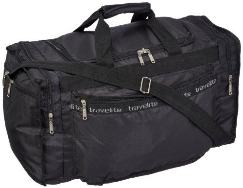 Travelite Falt-Reisetasche MiniMax M, schwarz, 53x31x27 cm, 40 Liter (Falt-shopper)