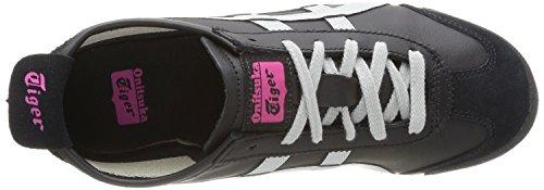 Onistuka Tiger Mexico 66 Damen Traillaufschuhe Schwarz (9011-Schwarz/Light Grey)
