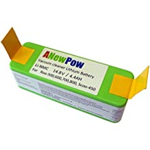 batería de litio (Li-Ion) de 4400mAh para iRobot Roomba toda 500, 600, 700, 800 series (por ejemplo 500, 510, 530, 531, 532, 533, 535, 536, 537, 550, 551,560,561, 562, 563, 564, 570, 571 577, 578, 580,600, 610, 611, 650, 700, 760, 770, 780, 790, 870, 880)
