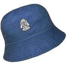 Sombrero De Pescador Bebé Niños Gorro Ala Ancha Ocio Algodón Con Bordado Para (PT-7385-S17-BJ0) incl. EveryHead-Hutfibel