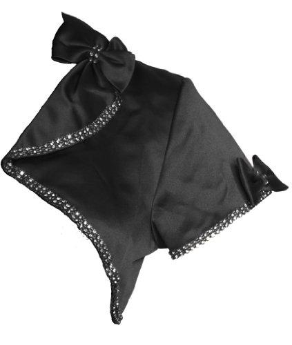 Alivila.Y Fashion -  Coprispalle  - Maniche corte  - Donna Black