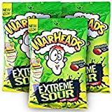 #8: Warheads Extreme Sour Hard Candy 5 Assorted Flavors 28gm (pack Of 3)