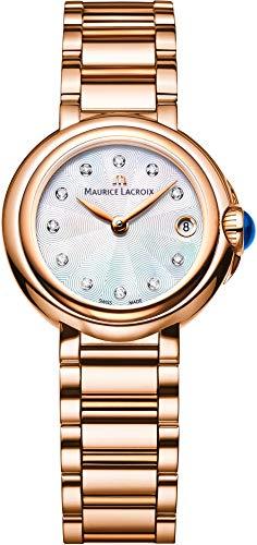 Maurice Lacroix Fiaba Round FA1003-PVP06-170-1 Orologio da polso donna Molto elegante
