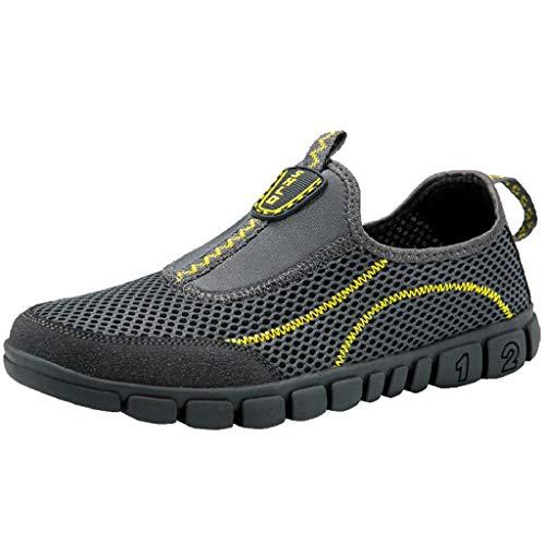 Subfamily❀Scarpe da Trekking ad Asciugatura Rapida per Camminare all'aperto Antiscivolo per Uomo di Grandi Dimensioni Trampolieri Scarpe da Nuoto Scarpe da Corsa Festa del papà