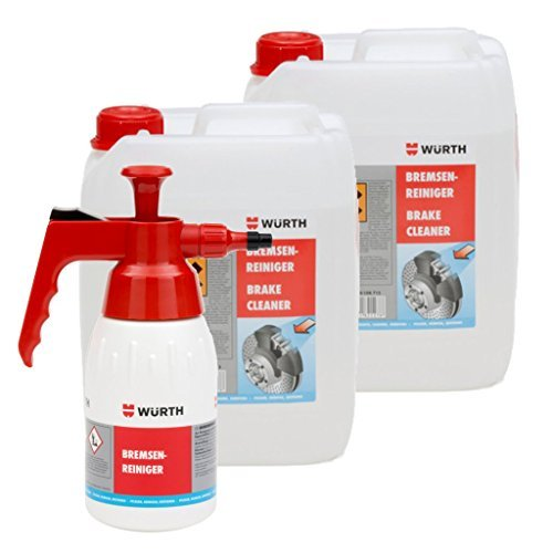 wurth-2x5litri-detergente-per-freni-spray-a-pompa-set-flaconi