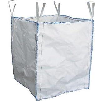 Centurion four-loop Big-Bag. Certificado 1tono tonelada 1000kg, tamaño: 90x 90x 150cm, Bulk bolsa Jumbo reciclar almacenamiento residuos de jardinería