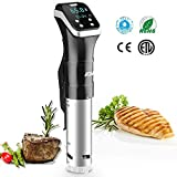 Sous Vide Precision Cooker, AQV Professional Immersion Circulator, IPX7 Full Waterproof Machine
