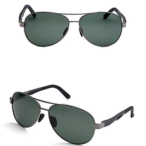 Sport-polarisierte Sonnenbrille - TAC Aviator Polarisierte Brille Für Männliche Und Weibliche Outdoor-Aktivitäten - Leichte Verstellbare Metallrahmen-Fahrer-Schutzbrille Für Klassische Brillen UV400