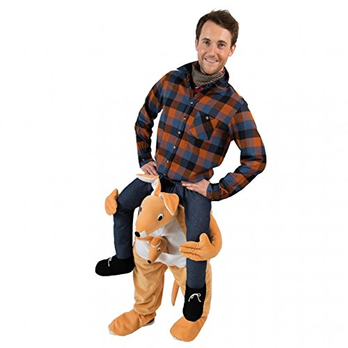 Orlob Handelsgesellschaft Huckepack Kostüm Känguru Fasching Trag Mich Kostüme Karneval Carry me