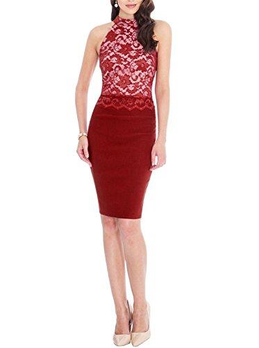 ANNN -  Vestito  - Donna Wine Red XX-Large