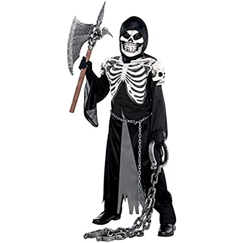 Amscan - Disfraz para niño con diseño esqueleto (999479)