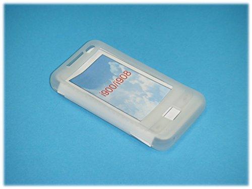 Silicon Cover/Silikon Tasche/Silikontasche/Case für Samsung SGH-i900/i908 Omnia in weiß Samsung I900 Silicone Case