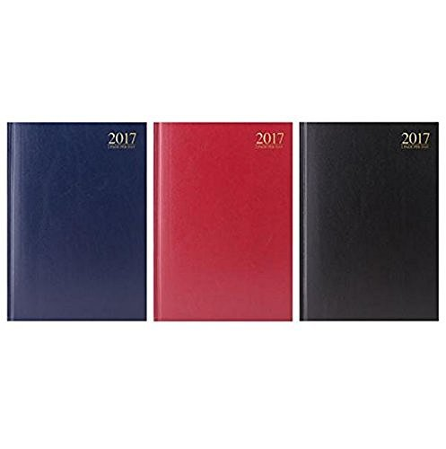 2017-a4-two-full-pages-per-day-desk-diary-with-appointment-times-available-in-three-colours-black-bl