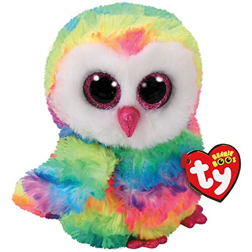 Beanie Boo Owl - Owen - Multicoloured - 24cm 9""