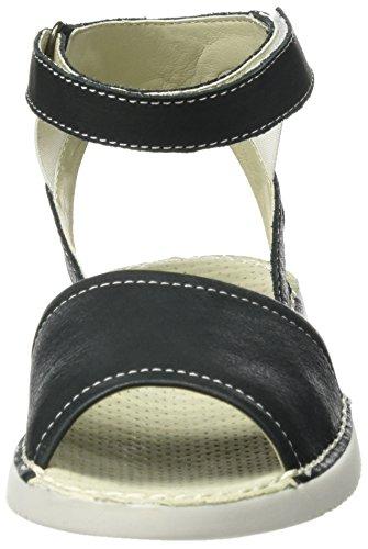 Softinos Tia385sof, Sandales Bride cheville femme Noir (noir)