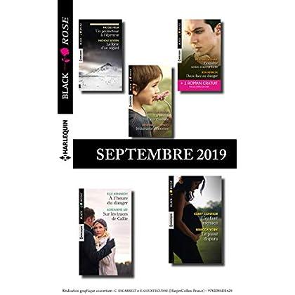 10 romans Black Rose + 1 gratuit (n°550 à 554 - Septembre 2019)
