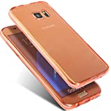 Galaxy A3 2015 Hülle,Morease Full Body 360 Degree Cover Silikon Schutzhülle Front + Back Rundum Case Transparent Weiche