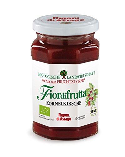 Rigoni di Asiago FiordiFrutta Kornelkirschen-Aufstrich 250g (Bio-marmelade)