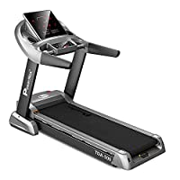 PowerMax Fitness TDA-500 (6HP Peak) Motorized Treadmill with Free Installation, 3 Years Motor Warranty, Home Use - Foldable, Auto Lubrication & Automatic Incline, With 3d Smart Touch Keys