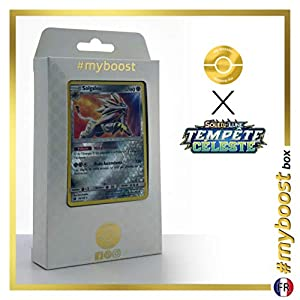 Solgaleo 99/168 Holo Reverse - #myboost X Soleil & Lune 7 Tempête Céleste - Box de 10 Cartas Pokémon Francés