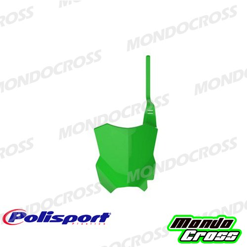 MONDOCROSS Tabella portanumero anteriore POLISPORT Bianco Colore OEM YAMAHA YZ 125 15-17 YZ 250 15-17 YZ 250 F 10-17 YZ 450 F 10-17