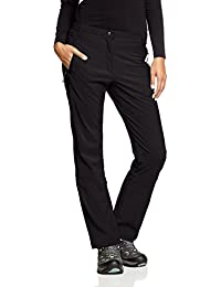 CMP Hose Softshell - Pantalones para mujer, color negro (u901), talla DE: D36